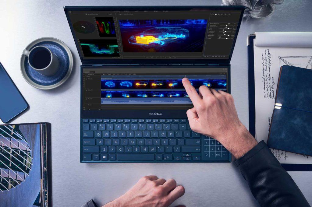 ZenBook-Pro-Duo laptop Content Creator.