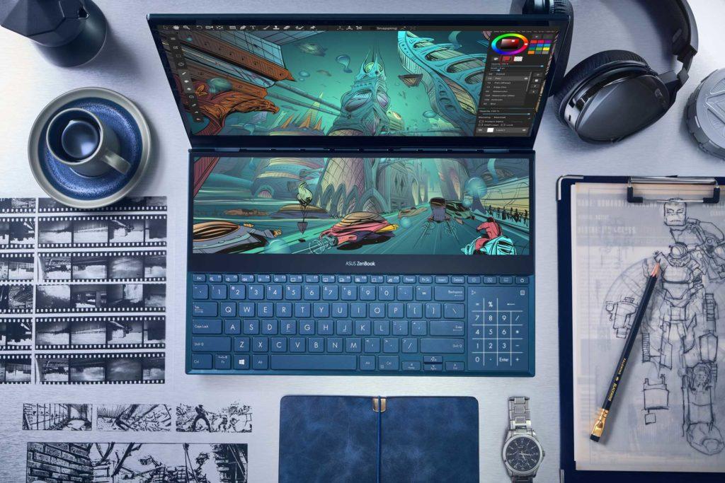 Zenbook Pro Duo Workstation Designer